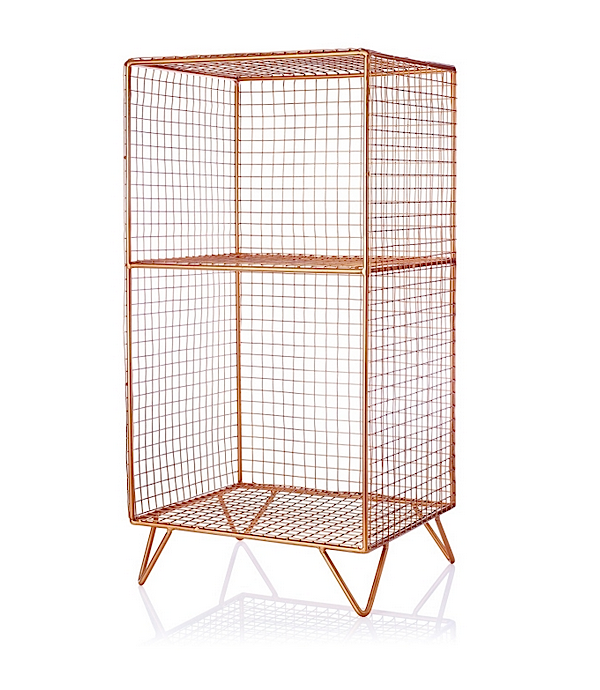 Oliver Bonas Copper Storage Shelves Iron Storage Shelves