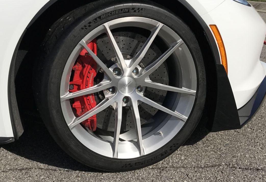 Pin By Forgeline Motorsports On C7 Corvette Custom Wheels Mustang Wheels Bike Wheel