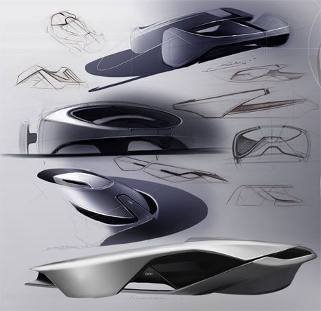 audi exo concept car by andrea mocellin yanko design cars pinterest industrial search. Black Bedroom Furniture Sets. Home Design Ideas