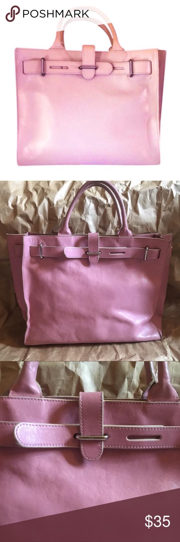 List Of Pinterest Furla Bags Leather Totes Images Agata Pink Greta Birkin Tote Satchel