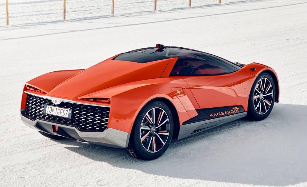 Gfg Kangaroo Electric All Terrain Supercar Concept Wordlesstech Super Cars New Sports Cars Sports Cars