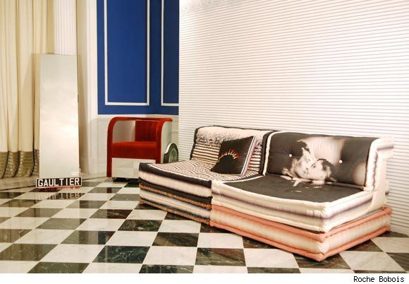 Jean Paul Gaultier S Mah Jong Couture Modular Sofa Decoracion De
