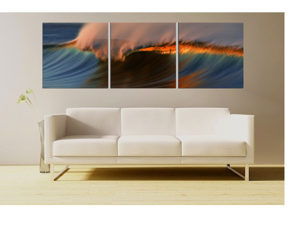Santa Barbara, CA Waves, #1 | To be, Wave surf and Surf - Ideal for surfers, this picturesque print of a Santa Barbara wave begs to  be ridden