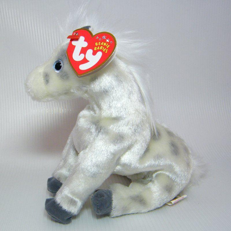 Ty Beanie Babies LIGHTNING Apaloosa Horse 3e84c317093
