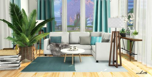 Sims 4 CC\'s - The Best: IKEA Living Room Recolors by Viikiita | Sims ...
