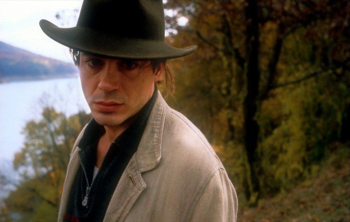 Robert Downey Jr as Vivian Thompson , in the film In ...