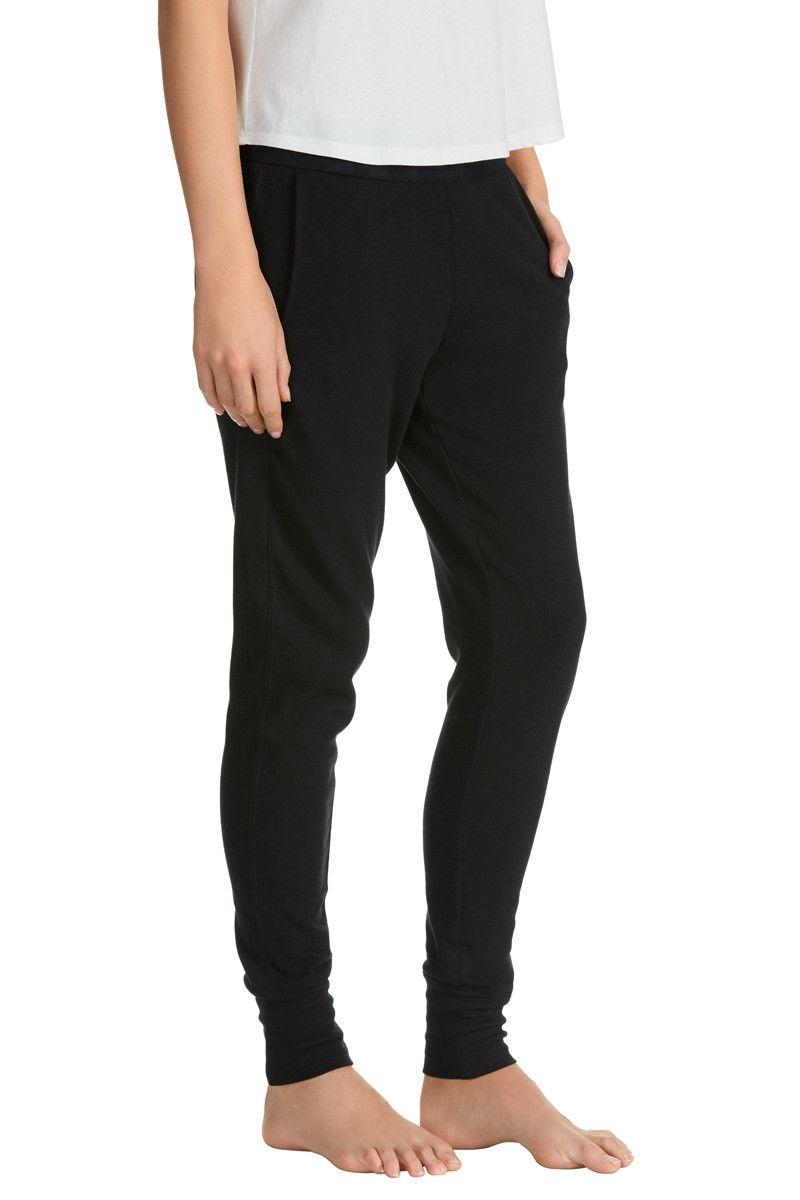 Womens Bonds Basic Cuff Trackie Textured Logo Tracksuit Pants Sports CZBMI