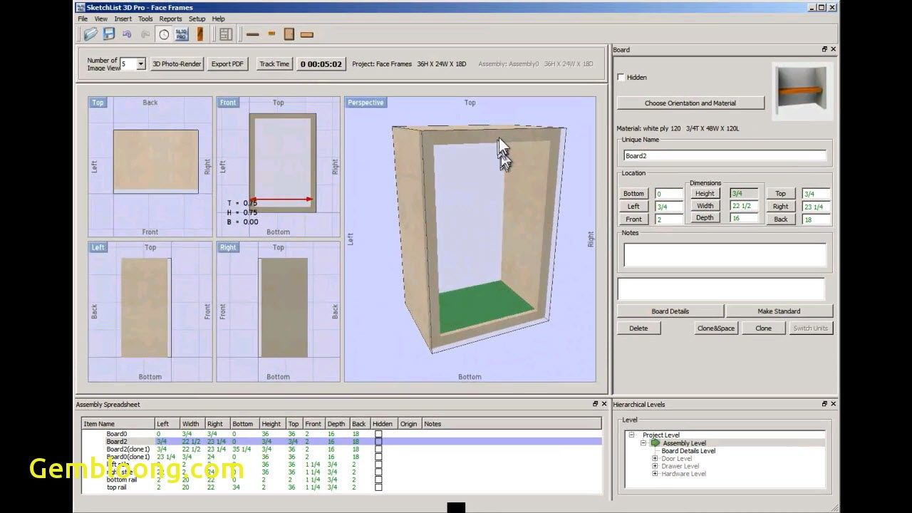 New Furniture Maker Design software- Delightful in order to my