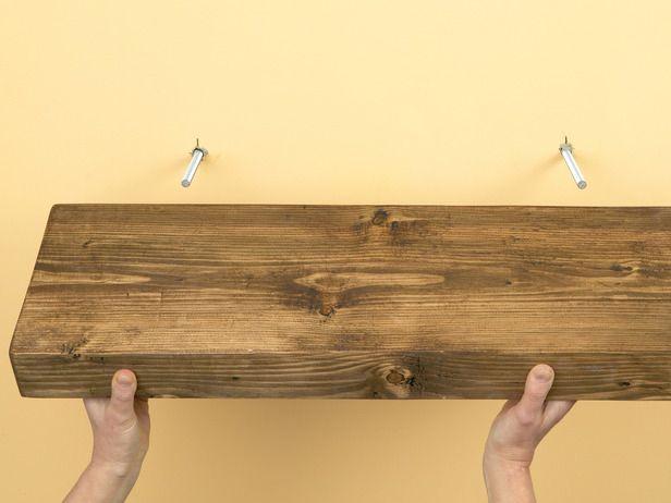 Houten Plank Blind Ophangen.How To Create Custom Shelves In 2019 Kast Planken Ideeen