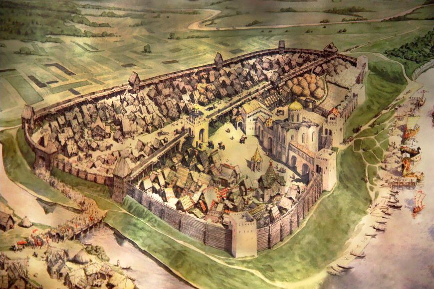 Картинки города владимира в древности, картинки марта своими