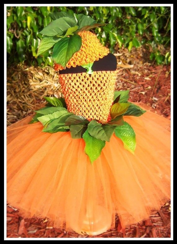 79c81b451 LITTLE MISS PUMPKIN Crocheted Tutu Dress with by goodygoodytutus ...