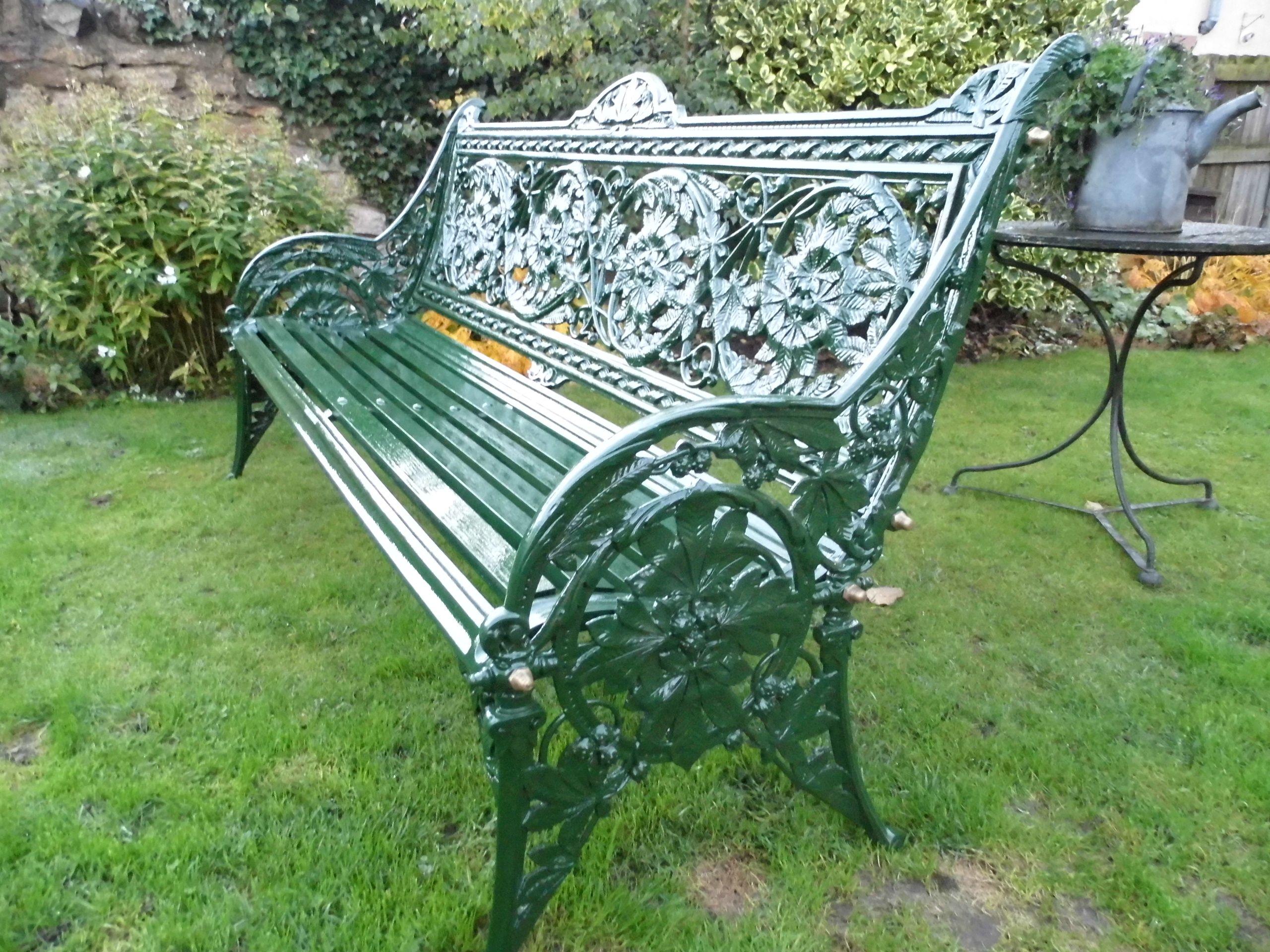 Coalbrookdale Horse Chestnut Bench Arte Ferro Serralheria E