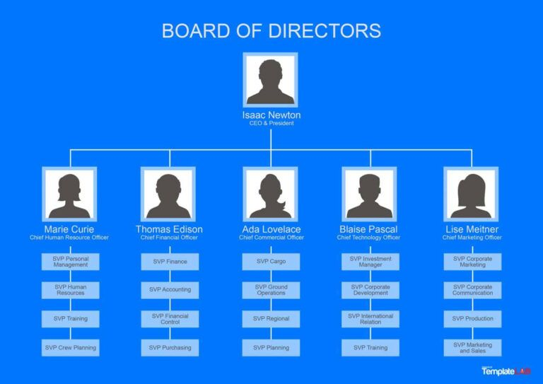 40 Organizational Chart Templates Word Excel Powerpoint In