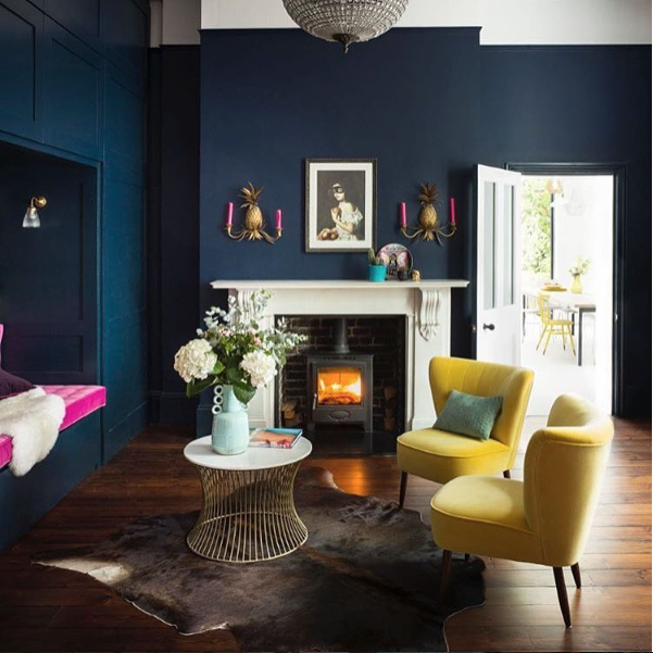 10+ Top Navy Blue And Mustard Yellow Living Room
