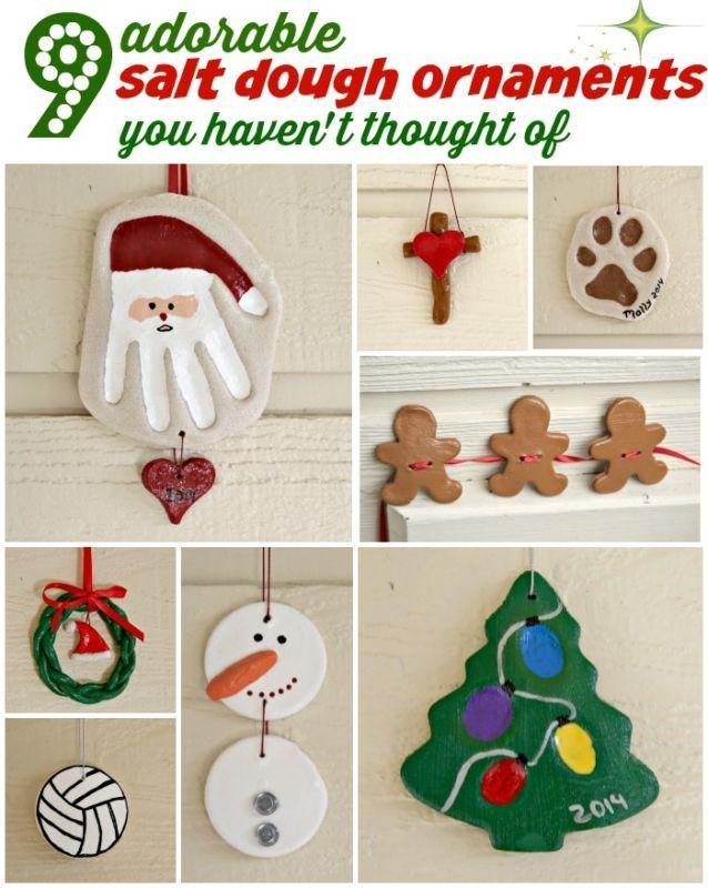 9 Salt Dough Ornament Ideas You Haven't Thought Of!