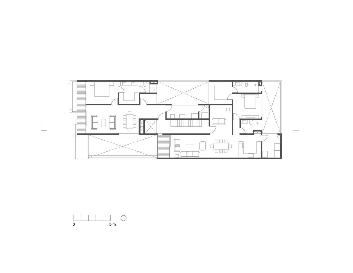 ámsterdam Building In Mexico By Jorge Hernandez De La Garza Floor Plans How To Plan