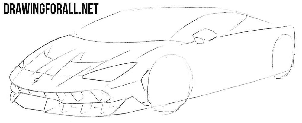 How To Draw A Race Car Step By Step With Images Drawings Race
