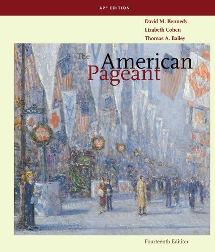 AP United States History Textbook The American Pageant A