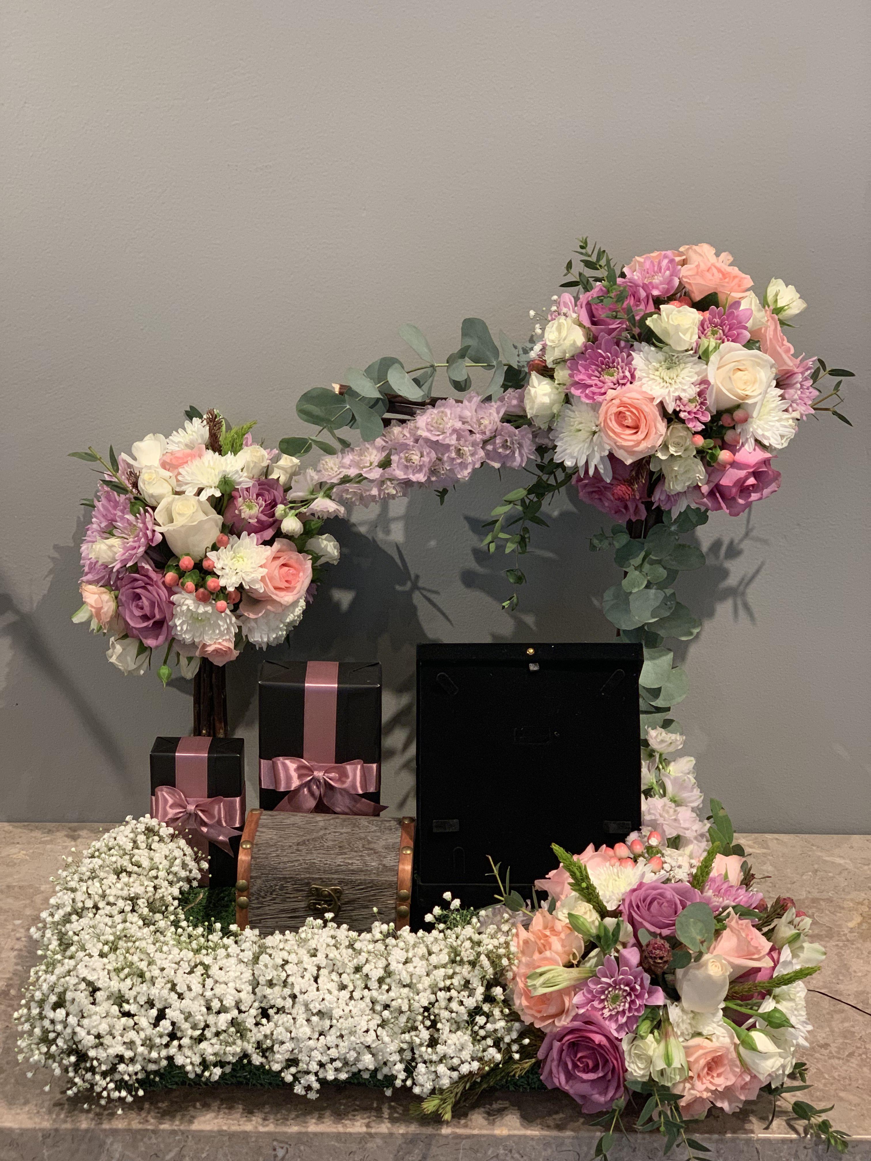 Arrangement شبكه Wedding Arrangements Flowers Flowers Bouquet