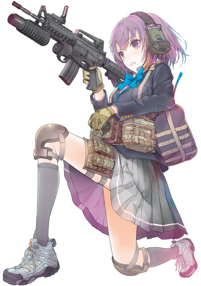 朝戸 未世charcterリトルアーモリー Official Website Gun Style