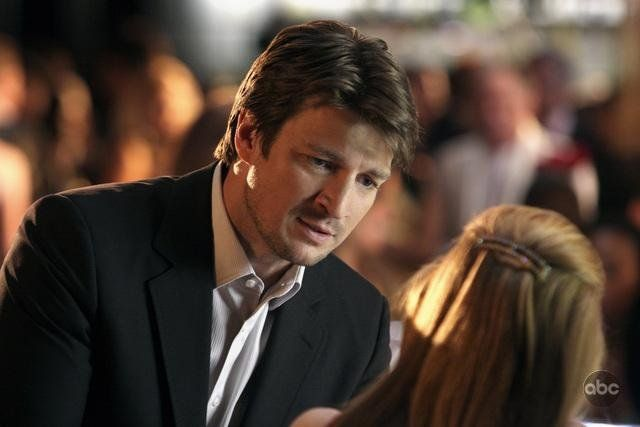 Still of Nathan Fillion in Castle, from Pilot episode | Nerd