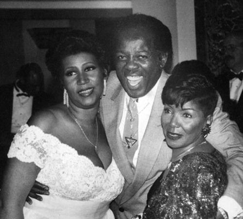 Aretha, Lou & Erma, 1990