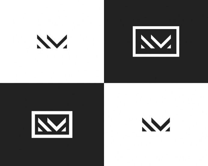 Nm Monogram For Nicole Miller Initials Logo Design Monogram Logo Design Branding Design Logo