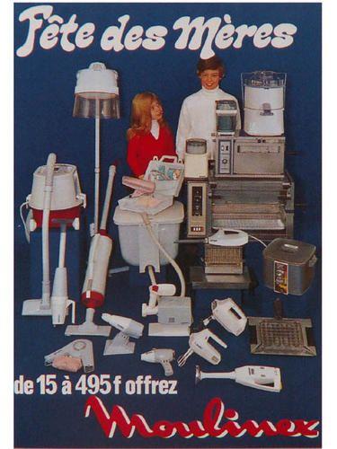 Saga moulinex episode iv mon b robot pub pinterest for Femme au foyer annees 50