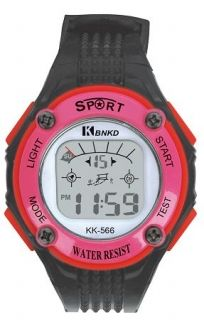 LED Digital Watch with Calendar, 30m Water Resistance Pink for Women Item No. : 55552  Price : $4.99  Category : Sport Watches