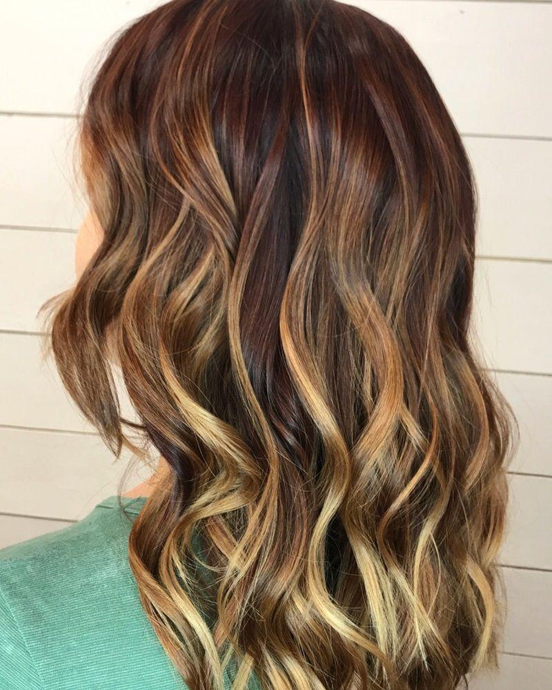 50 Mahogany Hair Color Ideas With Various Shades Highlights Mahogany Hair Hair Color Mahogany Hair Color