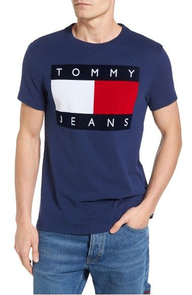 90s Flat T Shirt In Medieval Blue Camisetas Moda Para Ninas Moda Hombre