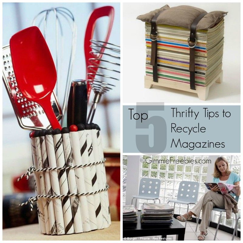 Recycle Magazines 5 Thrifty Tips for Recycling