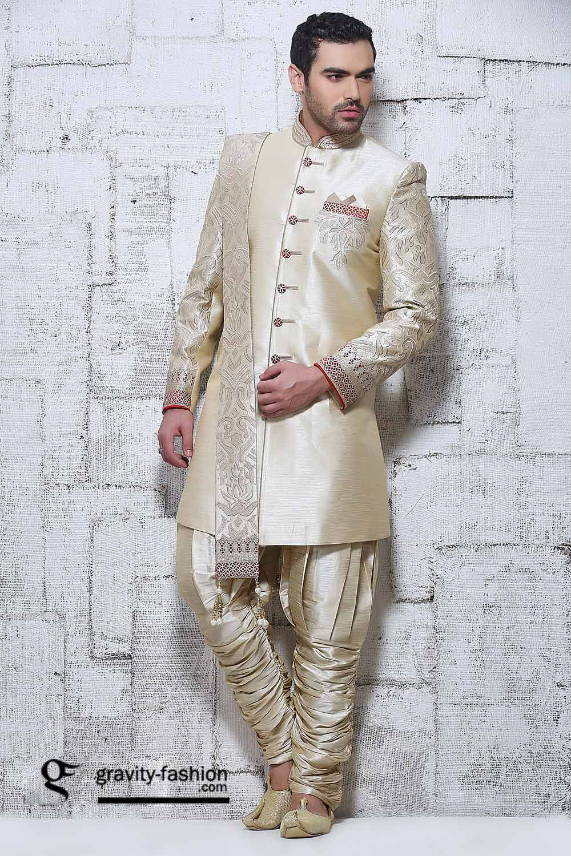 Elegant Wedding Wear Men Sherwani 2015 2016 Jodhpuri Classic