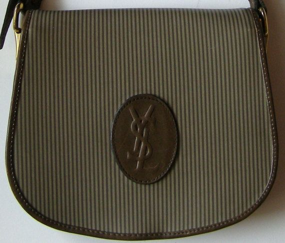 2adcbc3232 Sac Vintage Yves Saint Laurent - 70/80's Bag vintage - vintage - Yves Saint  Laurent - sac en cuir - leather bag