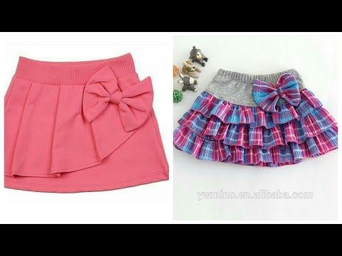 f17f76490bd4 Baby girls Kids Cotton Skirts Design Ideas Easy Make Stich At Home ...
