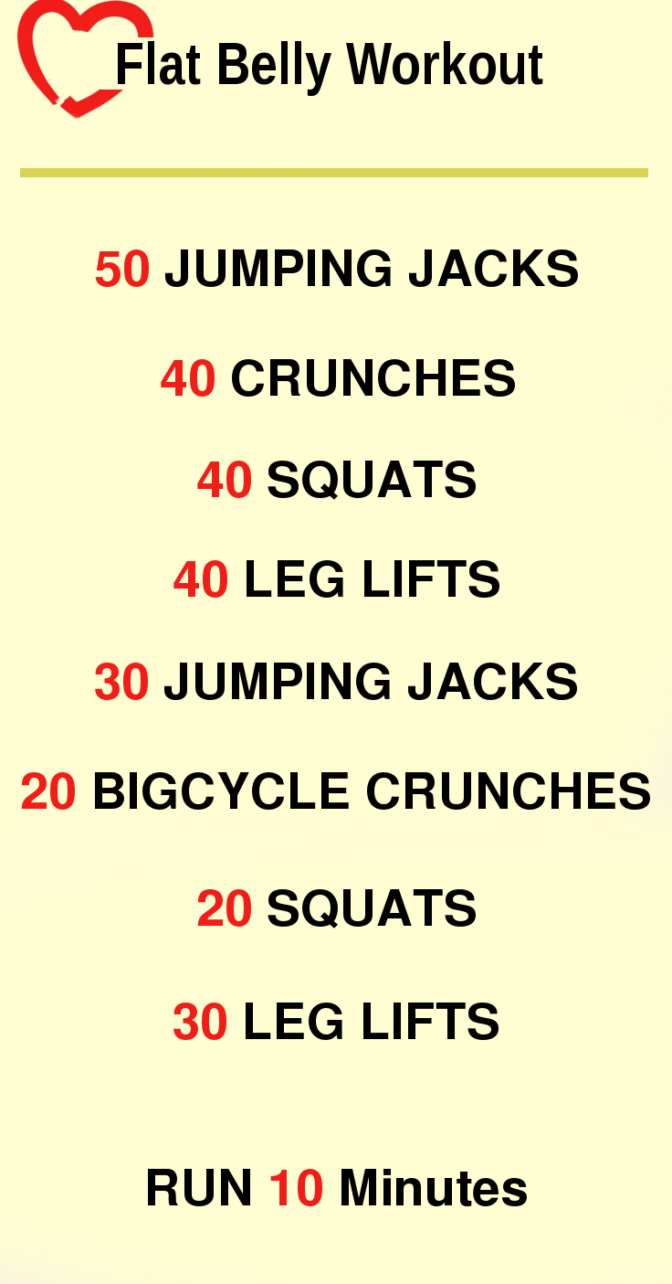 Flat Belly Workout on Pinterest | Weight Lifting Workouts ...