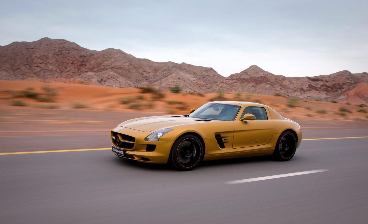 Desert Gold Mercedes Benz Sls Amg Mercedes Benz Sls Amg Benz