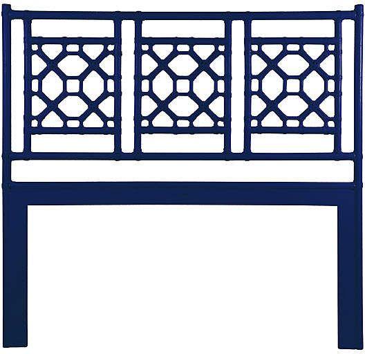 Lattice Headboard Navy Lattice Headboard Open Frame Headboard Diy Furniture Polish
