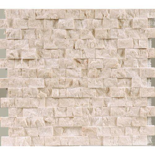 Malla de piedra: Marfil Creta #bathroom #wall #rock