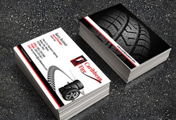 Caribbean tire business card name card pinterest business caribbean tire business card colourmoves