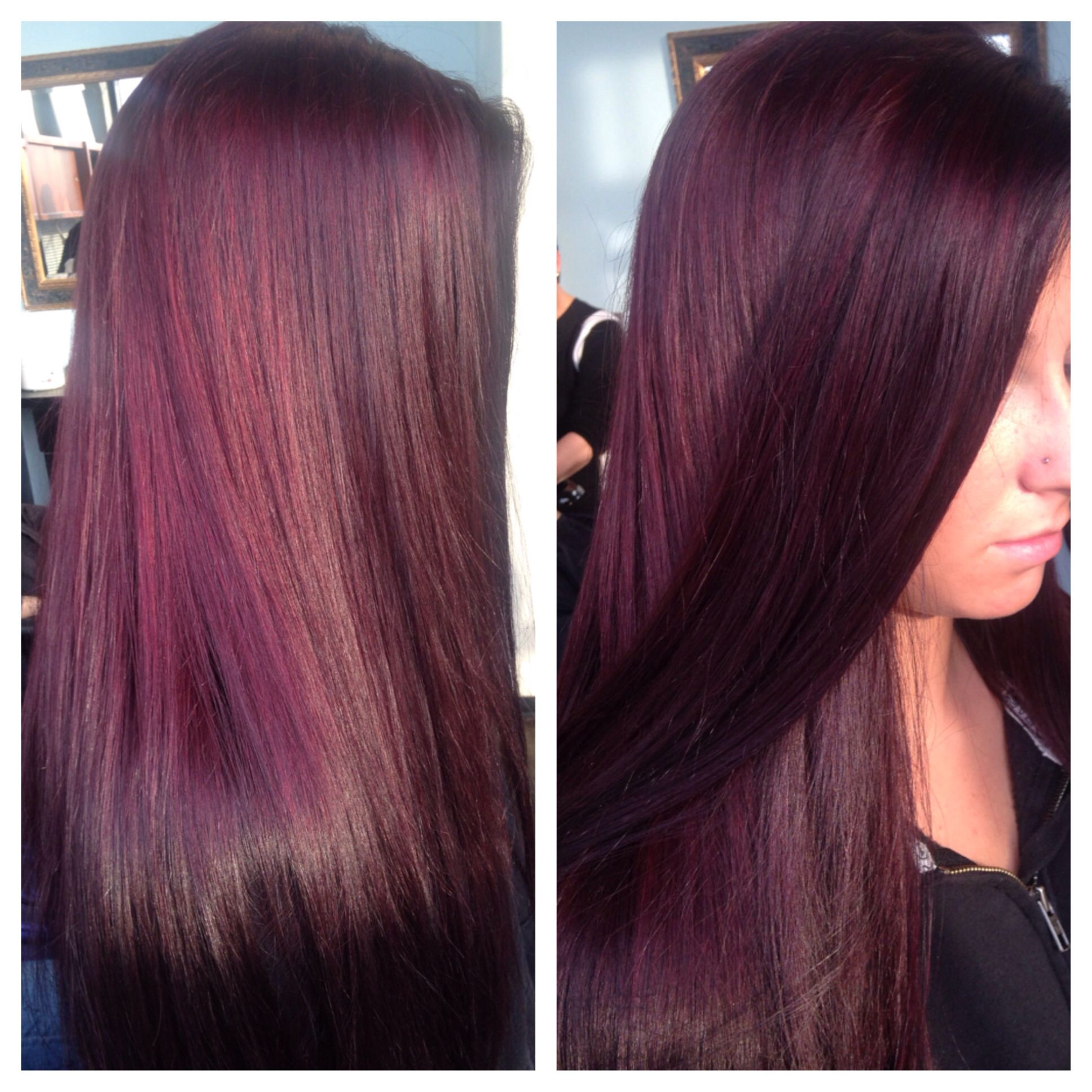 Purple Hair Dont Care Schwarzkopf Hair Color Syracuse New York