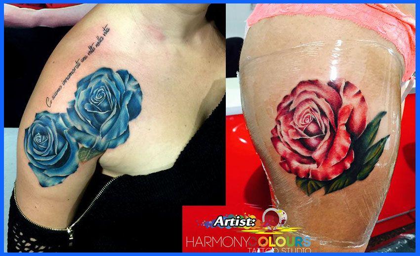 Best Rose Tattoos in the World, Best Rose Tattoos, Rose