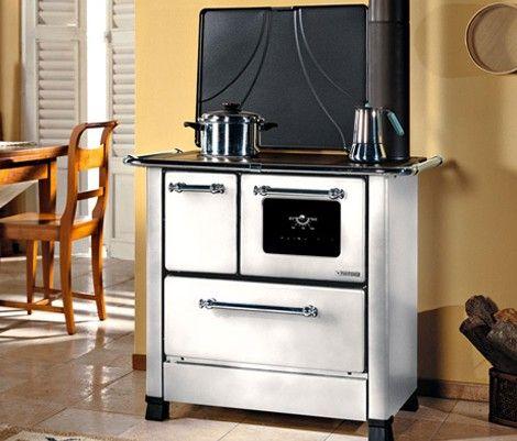 Estufa cocina romantica 3 5 cocina econ mica horno estufa para le a revestimiento exterior - Estufa de lena economica ...