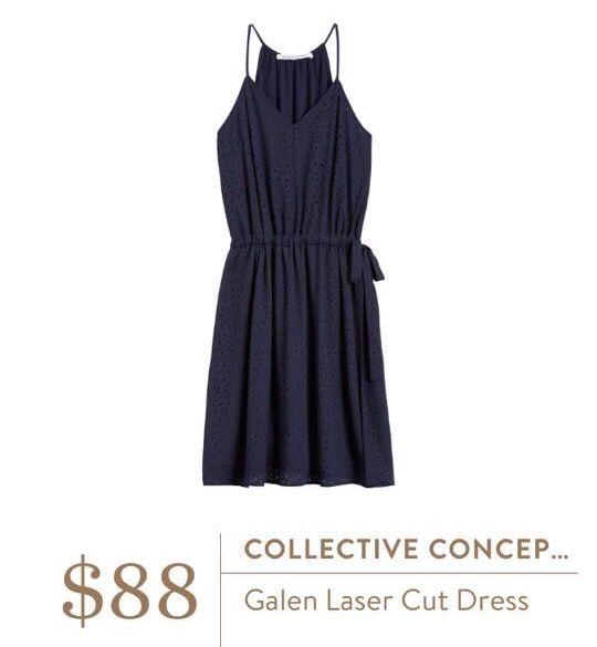 Collective Concepts Galen Laser Cut Dress