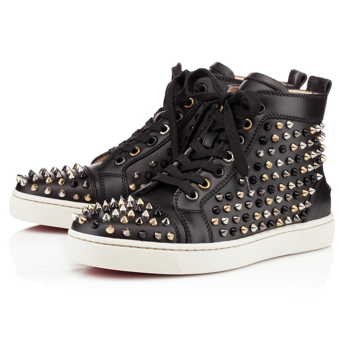 Los Angeles d4ce0 5df36 Louboutin femme spikes | louboutin femme | Studded sneakers ...