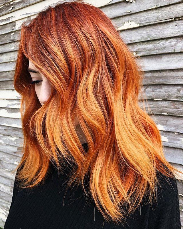 Pumpkin spice hair, alla scoperta del nuovo rosso di ...
