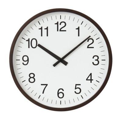 バーチ材電波ウォールクロック・ナチュラル/掛時計/シンプル&ナチュラルな壁掛け時計|インテリアハート