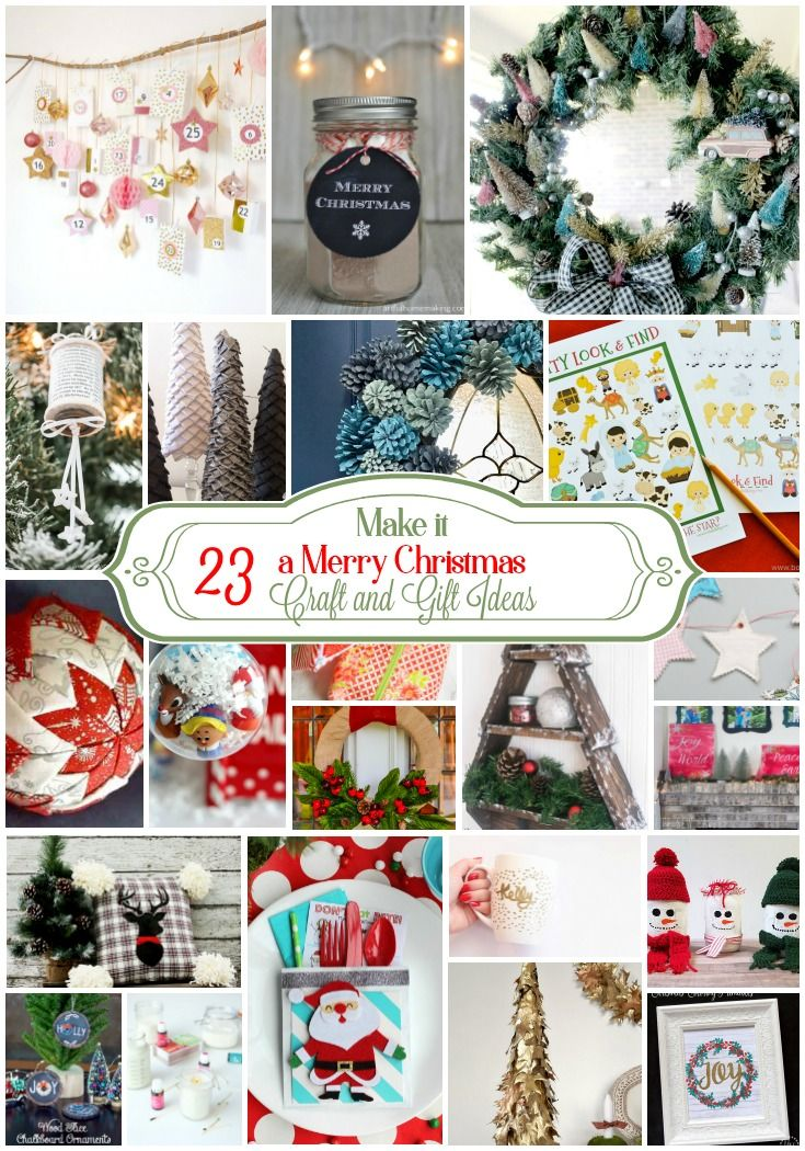 Make Is A Merry Christmas Unique DIY Christmas Craft And Gift Ideas