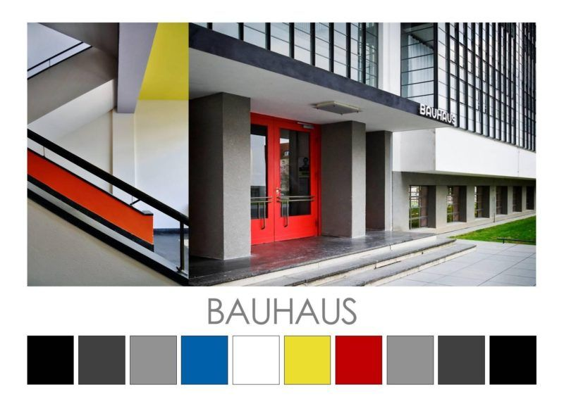 Colour.Design.Palettes Bauhaus design, Bauhaus interior