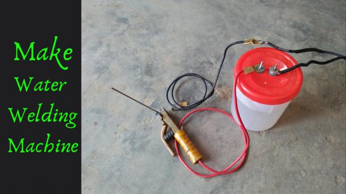 How To Make 230V Water Welding Machine Salt Water Welding